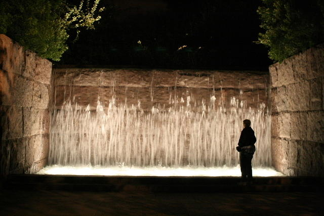 Picture of FDR Memorial.