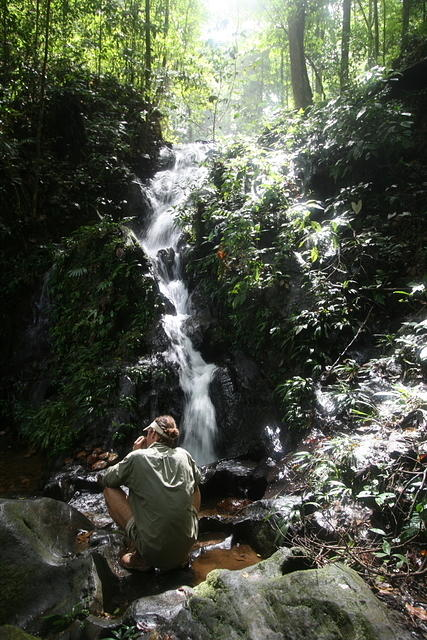 Picture of Kumbo Falls.
