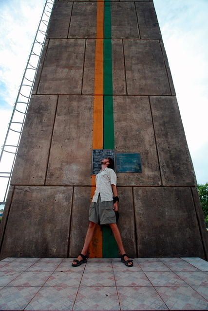 Picture of equator.