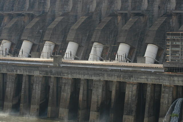 Picture of dam.