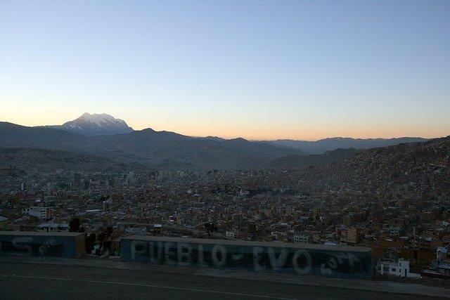 Picture of La Paz.