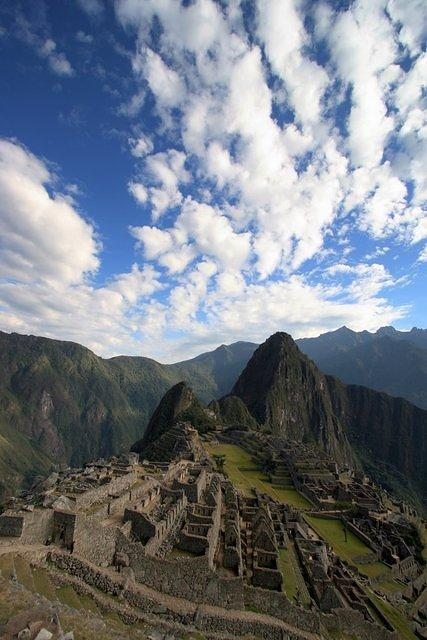 Picture of Machu Picchu.