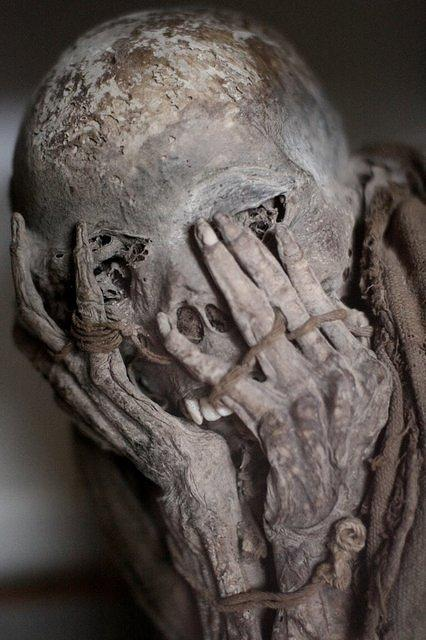 Picture of mummy.