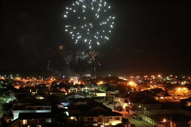 Picture of fireworks.
