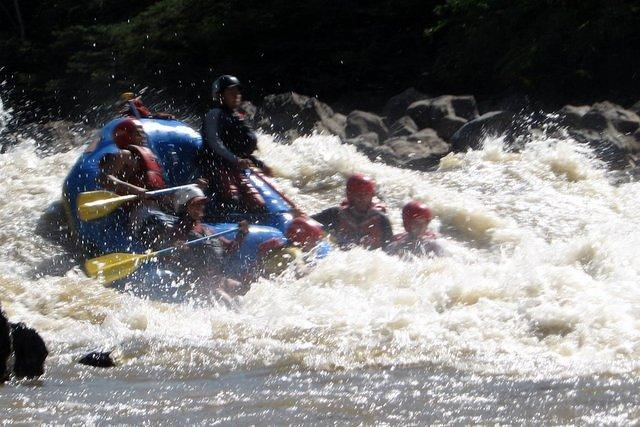 Picture of raft.