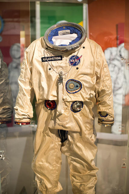 Picture of spacesuit.