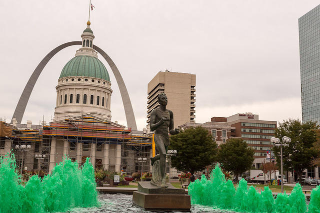 Picture of fountain.