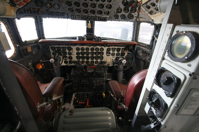 Picture of cockpit.