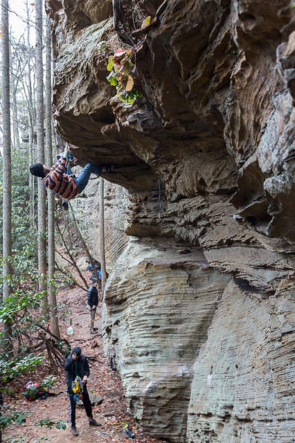 Picture of climber.