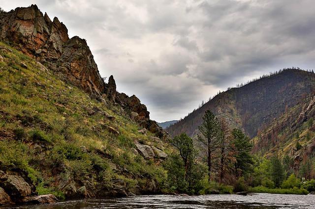 Picture of Poudre River.