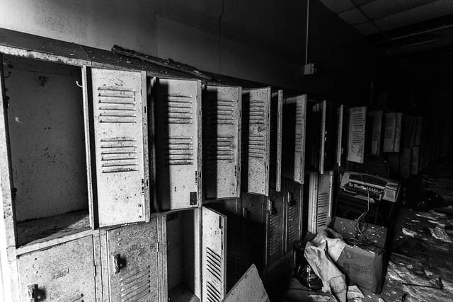 Picture of lockers.