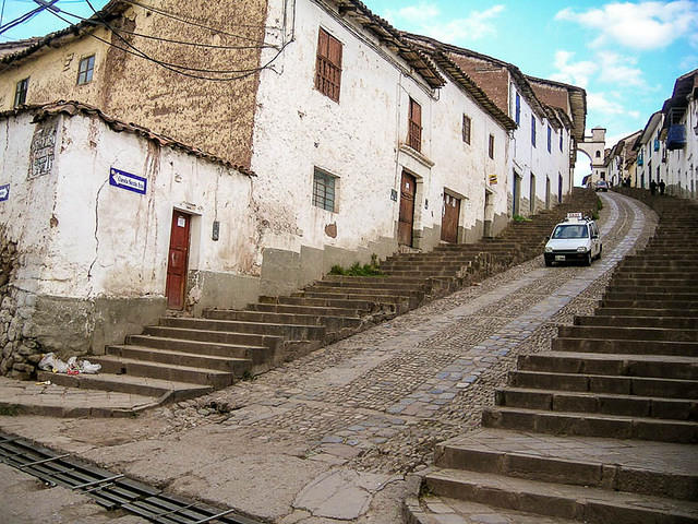 Picture of Cuzco street.