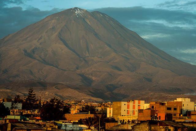 Picture of El Misti.