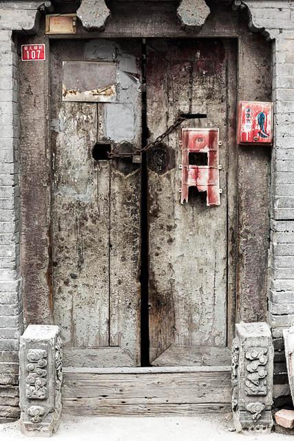 Picture of door.