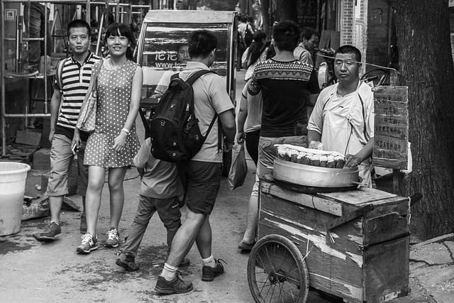 Picture of street food.