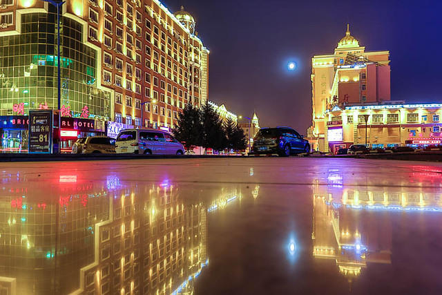 Picture of Manzhouli.