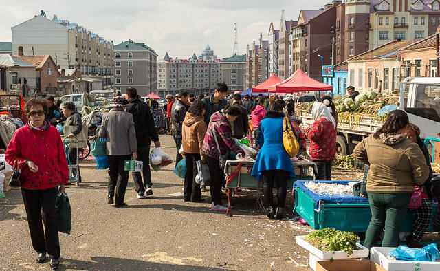Picture of market.