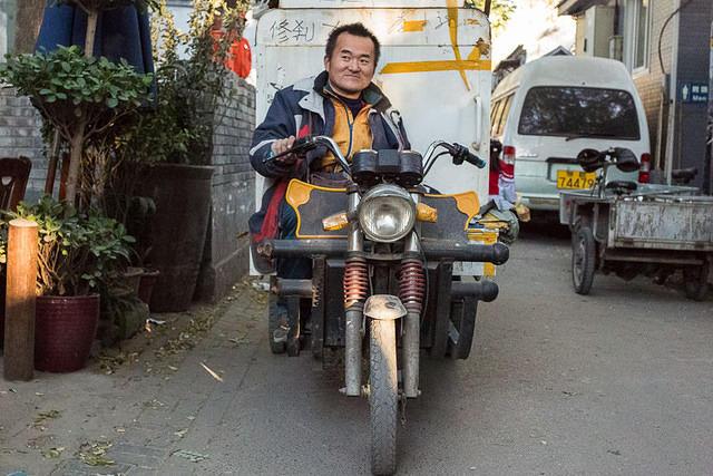Picture of biker.