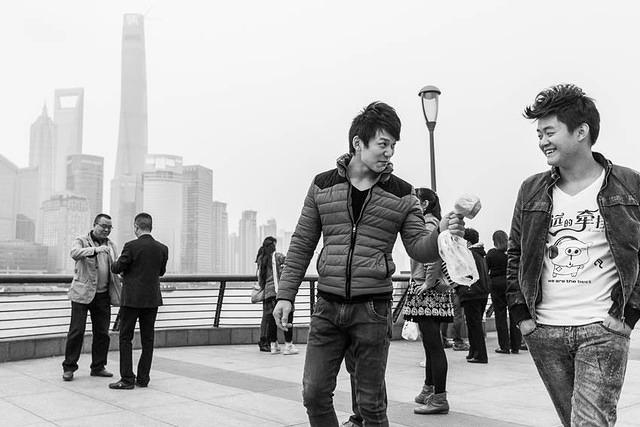 Shanghai - Picture of friends.