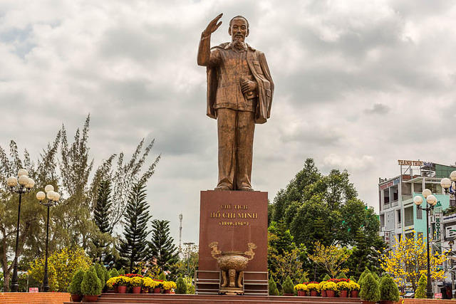 Picture of Ho Chi Minh.