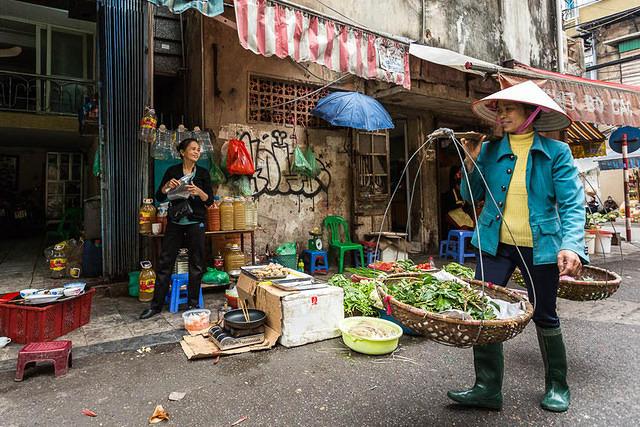 Picture of vendor.
