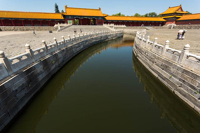 Forbidden City – Picture of canal.