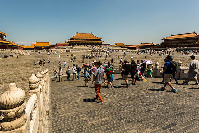 Forbidden City – Picture of city.