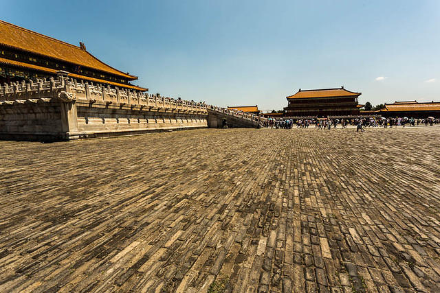 Picture of Forbidden City.
