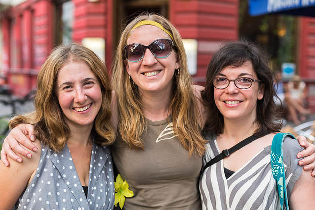 Picture of Moar, Katie, Christina.