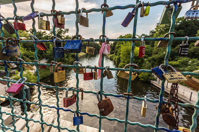 Picture of locks.