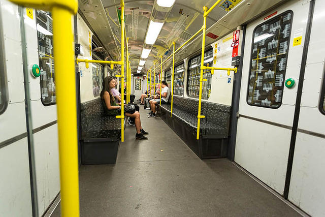 Picture of subway car.