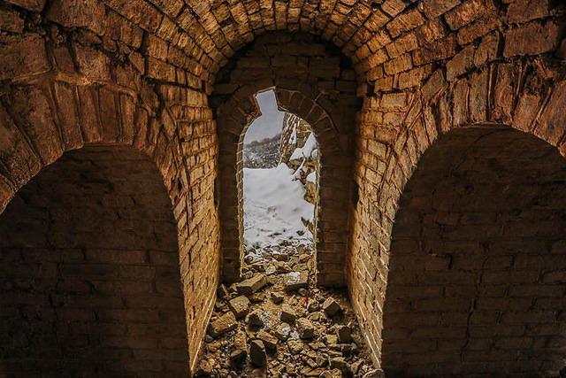 Great Wall - Picture of doorway.