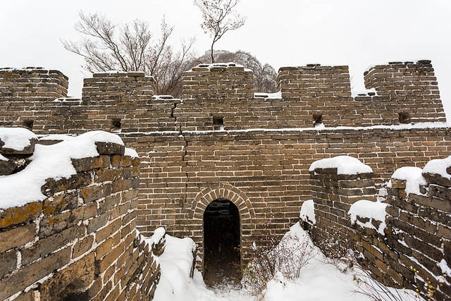 Great Wall - Picture of tower.