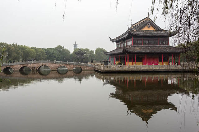 Zhouzhuang - Picture of temple.
