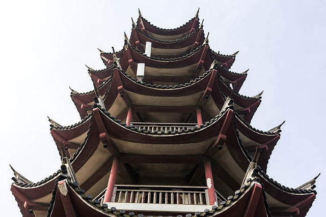 Zhouzhuang - Picture of pagoda.