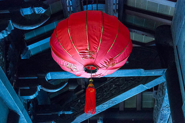 Zhouzhuang - Picture of lantern.