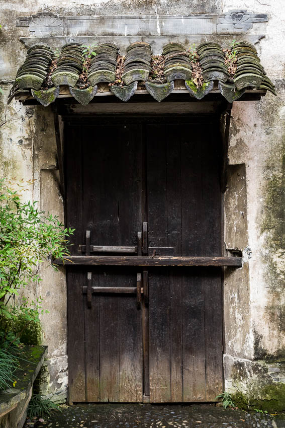 Zhouzhuang - Picture of doorway.