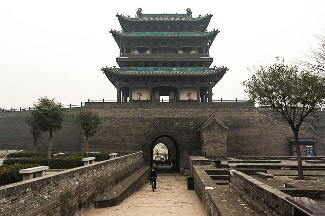 Pingyao: Picture of tower.