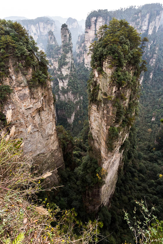 Zhangjiajie: Picture of pillar.