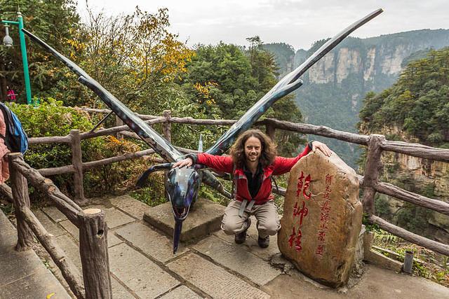 Zhangjiajie: Picture of Avatar bird.