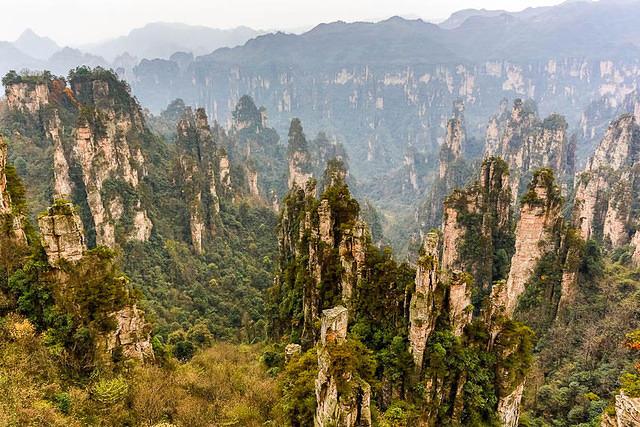 Zhangjiajie: Picture of view.