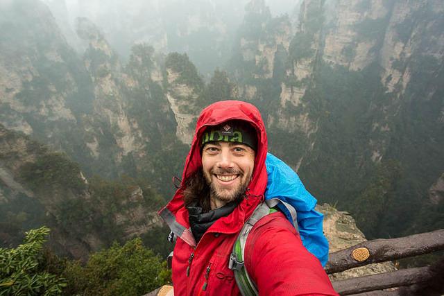 Zhangjiajie: Picture of me.