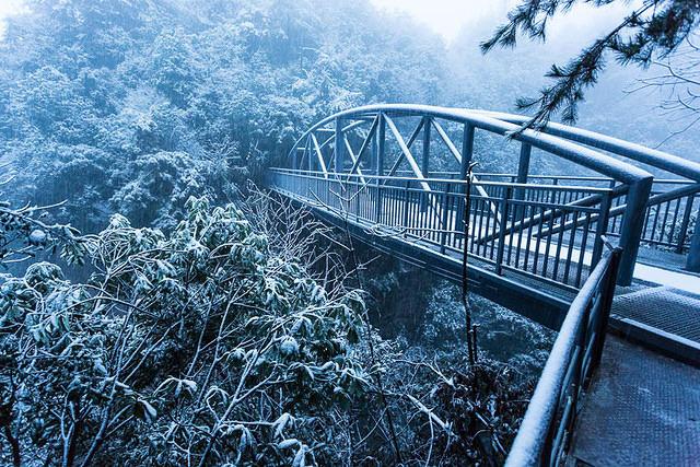 Zhangjiajie: Picture of bridge.