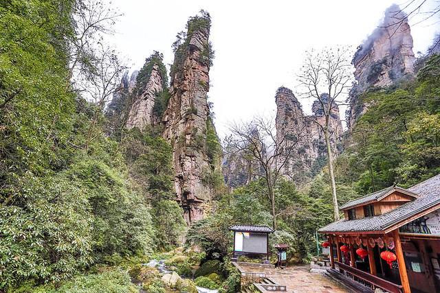 Zhangjiajie: Picture of cabin.