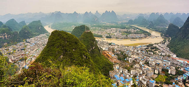 Yangshuo: Picture of city.