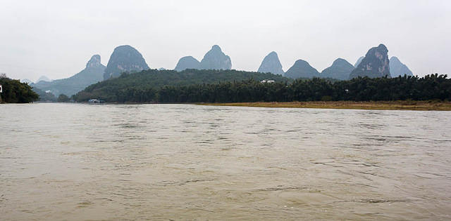Yangshuo: Picture of Li River.
