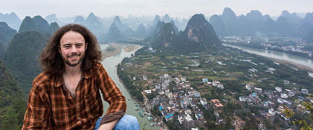 Yangshuo: Picture of me.