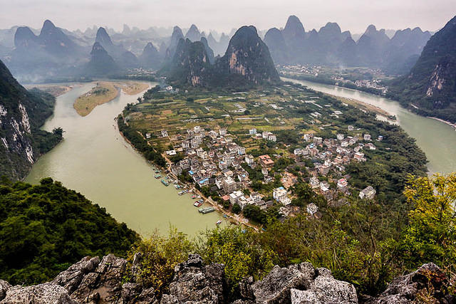 Yangshuo: Picture of Xing Ping.