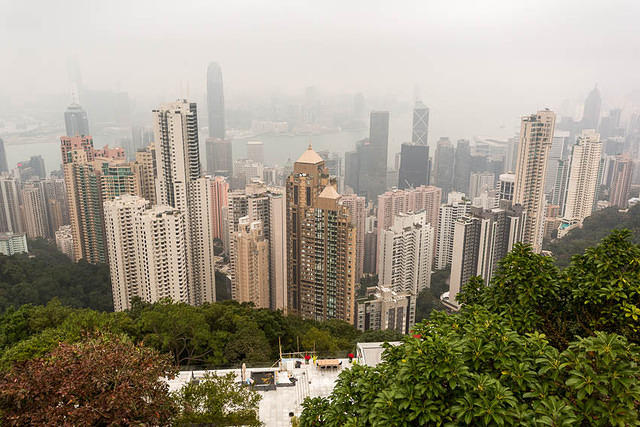 Hong Kong: Picture of The Peak.