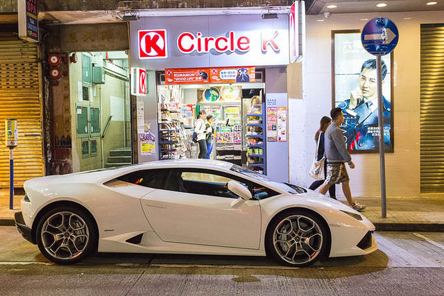 Hong Kong: Picture of Lamborghini.